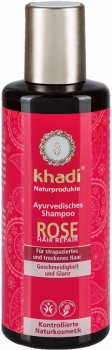 Khadi ayurvedisches Shampoo Rose 210ml
