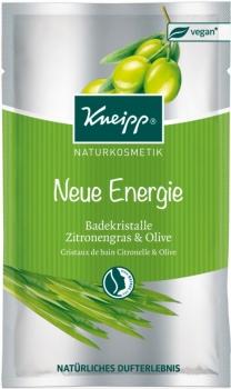 Kneipp Badekristalle Zitronengras Olive 60g