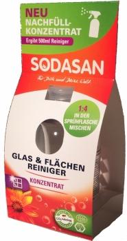 Sodasan Glas & Flächenreiniger Konzentrat 100ml