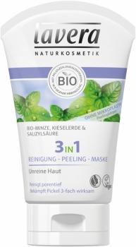 Lavera 3in1 Reinigung, Peeling, Maske 125ml