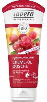 Lavera Creme Öl Dusche Cranberry Arganöl 200ml