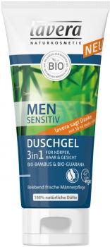 Lavera Men Sensitiv Duschgel 3in1 - 200ml