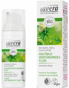 Lavera Faces Feuchtigkeitsfluid Minze 50ml