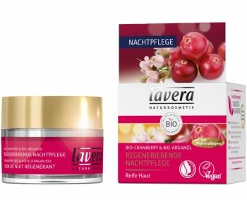 Lavera regenerierende Nachtpflege Bio Cranberry 50ml