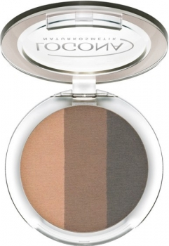 Logona Eyeshadow Trio 2 coffee