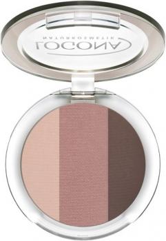 Logona Eyeshadow Trio 3 rosewood