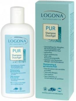 Logona Pur Shampoo & Duschgel 250ml