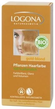 Logona Pflanzenhaarfarbe Goldblond 100g