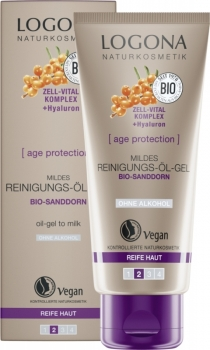 Logona Age Protection Reinigungsöl Gel 100ml