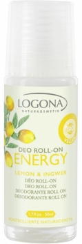 Logona Energy Deo roll on 50ml