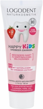 Logona Kids Zahngel Erdbeere 50ml