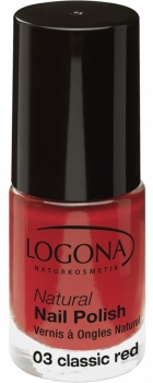 Logona Nagellack No 03 classic red 4ml