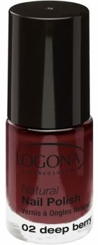 Logona Nagellack No 02 deep berry 4ml