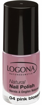 Logona Nagellack No 04 pink blossom 4ml