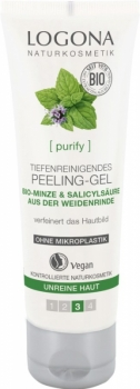 Logona Peeling Gel Bio Minze 100ml