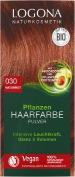 Logona Pflanzen Haarfarbe Henna Naturrot 100g