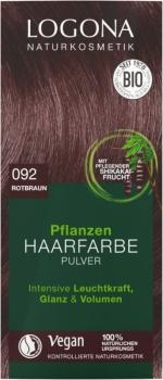 Logona Pflanzenhaarfarbe Rotbraun 100g