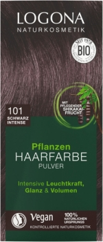 Logona Pflanzenhaarfarbe Schwarz Intense 100g