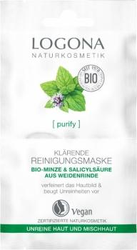 Logona Reinigungsmaske Bio Minze 15ml