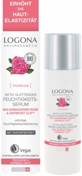 Logona glättendes Serum Bio Rose 30ml
