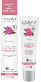 Logona Tagescreme Bio Rose 30ml