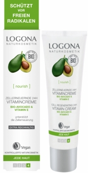 Logona Vitamincreme Bio Avocado 30ml