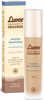 Luvos Heilerde getöntes Gesichtsfluid hell 50ml