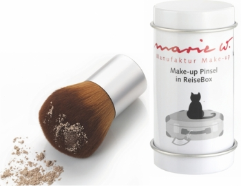 Marie W. Make up Pinsel mit Reisebox