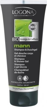 Logona Mann Duschgel & Shampoo 200ml