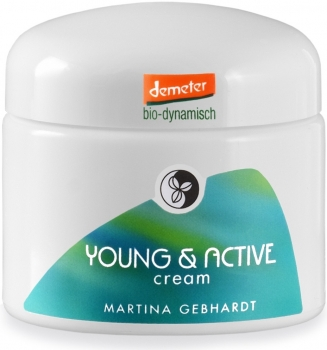 Martina Gebhardt Young Active Cream | Hautcreme 50ml