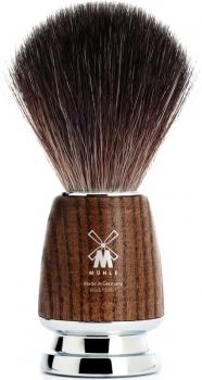 Mühle Rytmo Rasierpinsel Esche schwarz fibre