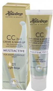 Heliotrop Multiactive CC Creme & Make up 01 light beige 30ml