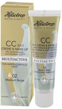 Heliotrop Multiactive CC Creme & Make up 02 medium beige 30ml