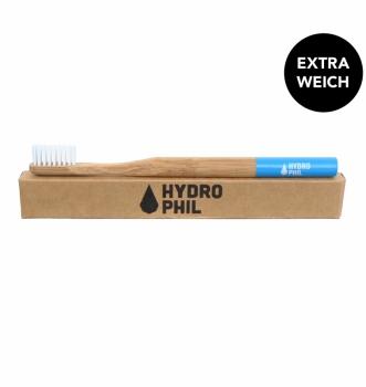 Hydrophil Bambus Zahnbürste weich blau