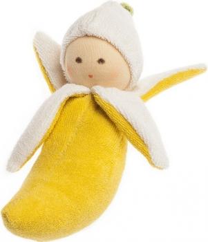 Nanchen Baby Rassel Banane BIO