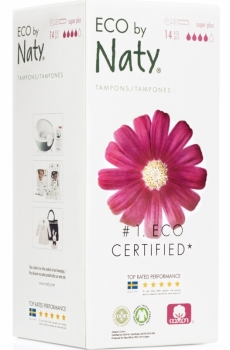 Naty Bio Tampons super plus mit Applikator