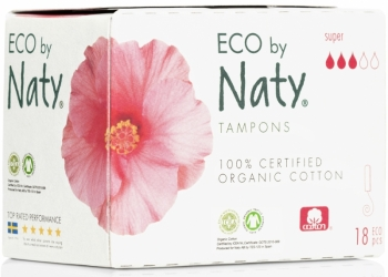 Naty Bio Tampons super