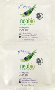 neobio Feuchtigkeitsmaske 2x7,5ml