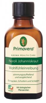 Primavera Neroli Johanniskraut Wohlfühleinreibung 50ml