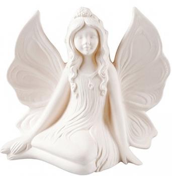 Duftstein Keramikfigur Elfe