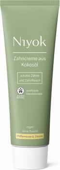 Niyok Zahncreme Pfefferminze & Zitrone 75ml