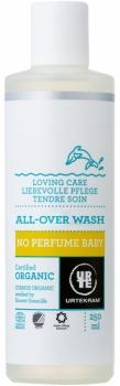 Urtekram Baby All-over Wash - ohne Parfum 250ml