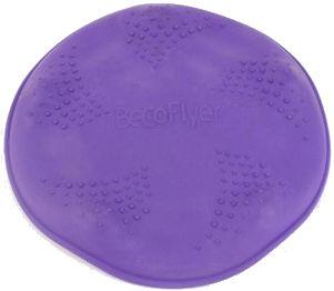 Öko Hunde Wurfscheibe Violett
