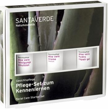 Santa Verde Aloe Vera Gesichtspflege Set