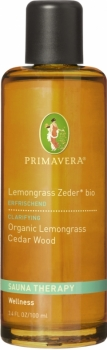 Primavera Sauna Lemongrass Zeder 100ml