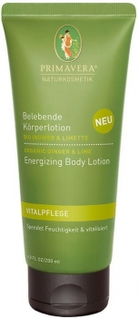 Primavera Bodylotion Ingwer Limette 200ml