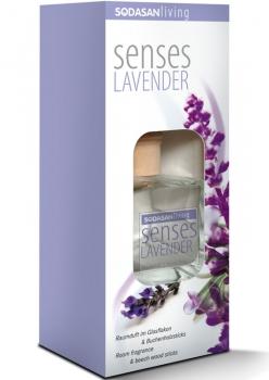 Sodasan Raumduft mit Stäbchen Lavender