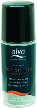 alva Kristall Deo Roll on for him 50ml