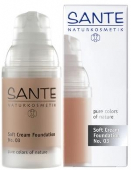 Sante Soft Creme Foundation No 3 sunny beige 30ml