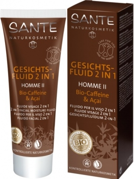 Sante 2in1 Gesichtsfluid Homme II 50ml